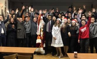 """Русский Новый год в волонтерском клубе """"Дружба"""""""