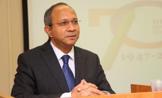 Посол Индии выступил с лекцией на ФМП