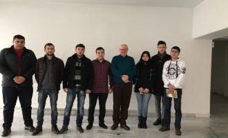 А.А.Сидоров в филиале МГУ в Ереване