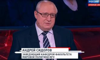 """А.А.Сидоров в программе """"Вечер"""""""