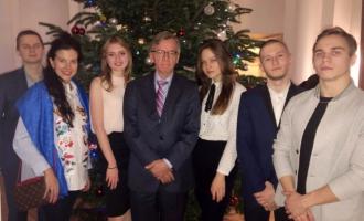 Студенты посетили посольство Дании