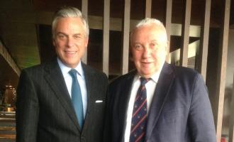 Декан ФМП встретился с послом США в РФ