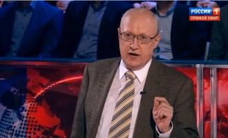 А. А. Сидоров в телепередаче Владимира Соловьёва