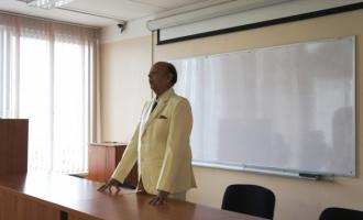 Лекция профессора Швинадана Мишры