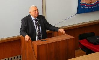 Лекция А.А.Кокошина на открытии нового сезона НСО