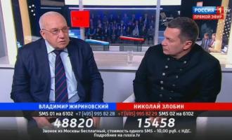 """А.А. Кокошин в программе """"Поединок"""""""