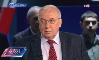 """А. А. Кокошин и А. С. Барсенков в """"Праве голоса"""""""