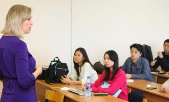 Встречи замдекана по международному сотрудничеству с  иностранными студентами