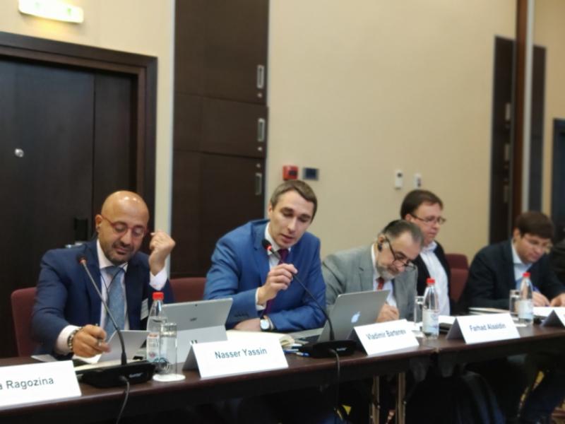 Директор ЦПБР ФМП В.И.Бартенев выступил на Международном экспертном форуме «Россия – Ближний Восток»