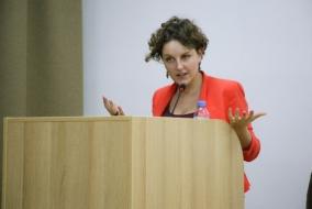 Выступление Л.Р. Хлебниковой на II Московской научной конференции